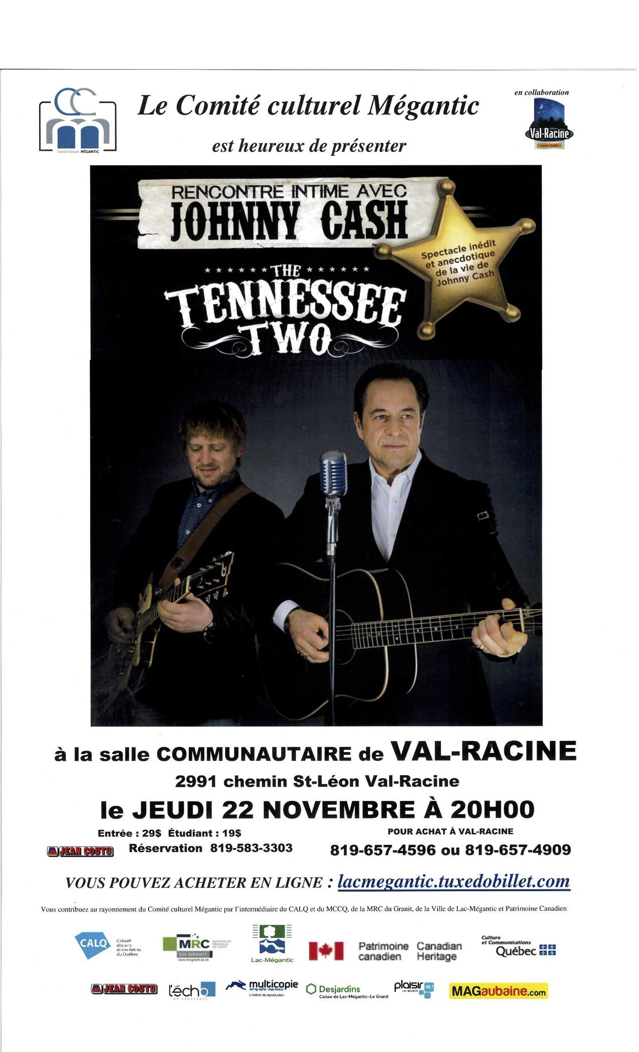 Johnny Cash Mégantic